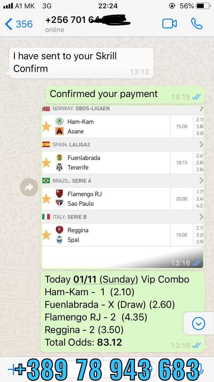 VIP COMBINED FIXED MATCHES WON 01 11