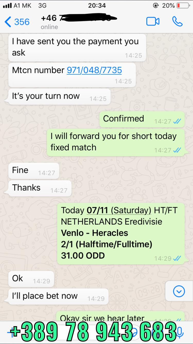 ht ft fixed matches won 07 11