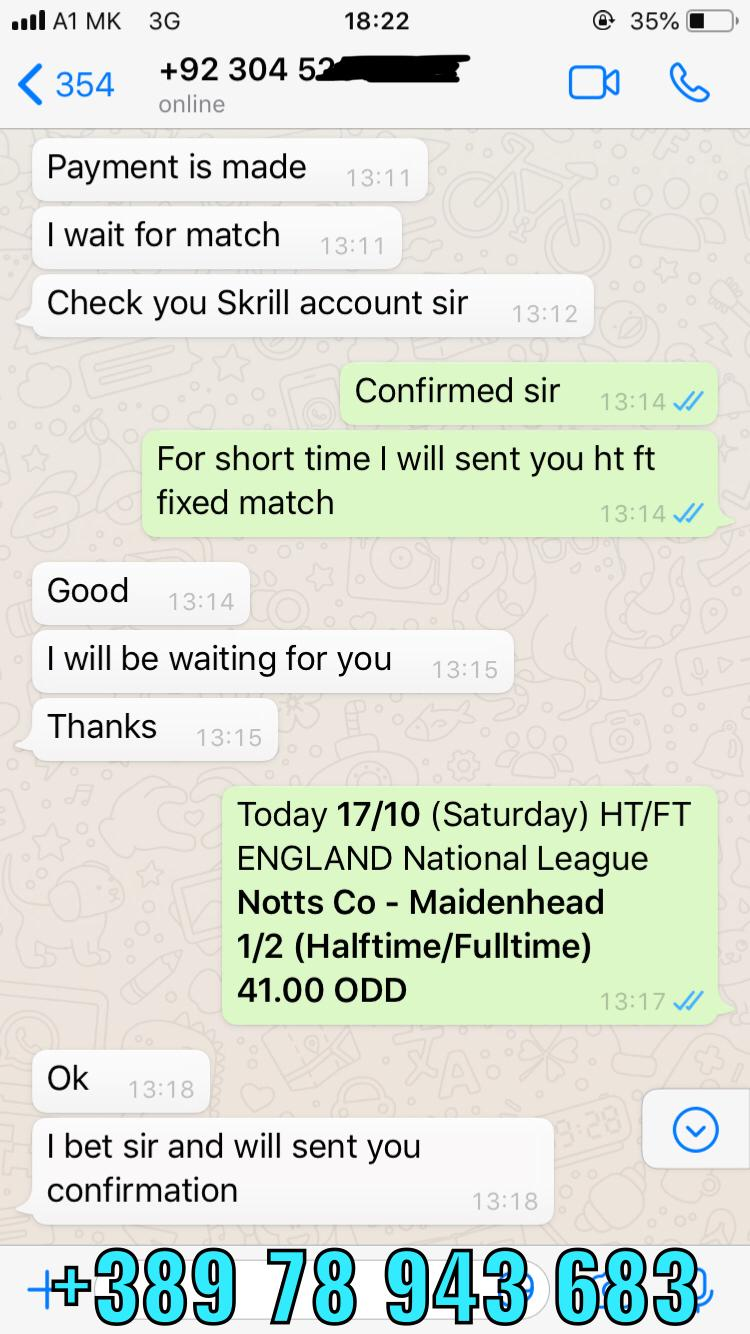 ht ft fixed matches won 17 10